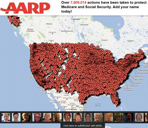 AARP Map