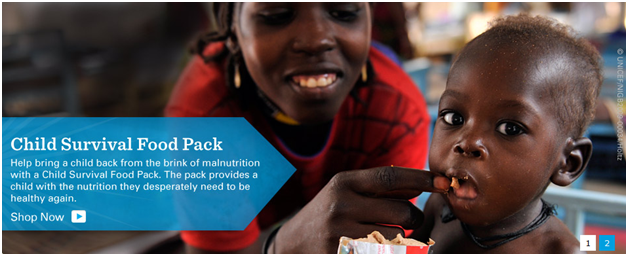 UNICEF - Child Survival Food Pack