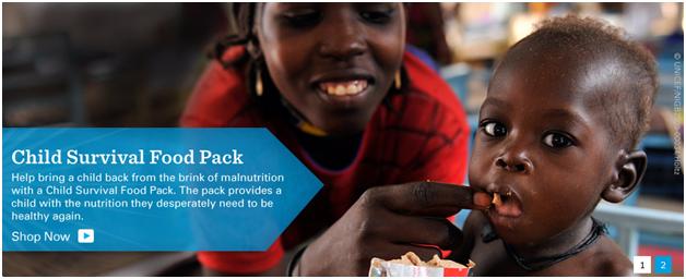 UNICEF - Child Survival Food Pack