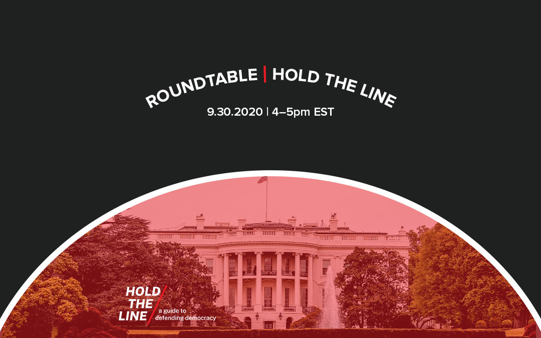 ICYMI: Hold the Line Roundtable Recording (+ MORE)